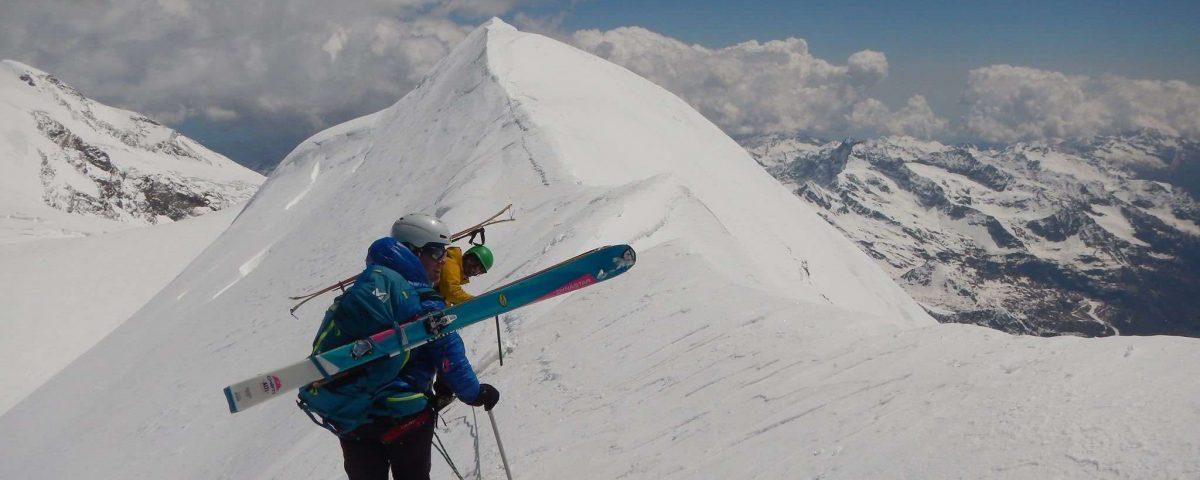 ALTA VIA del MONTE ROSA Con Mauro Piccione A. Guida Alpina