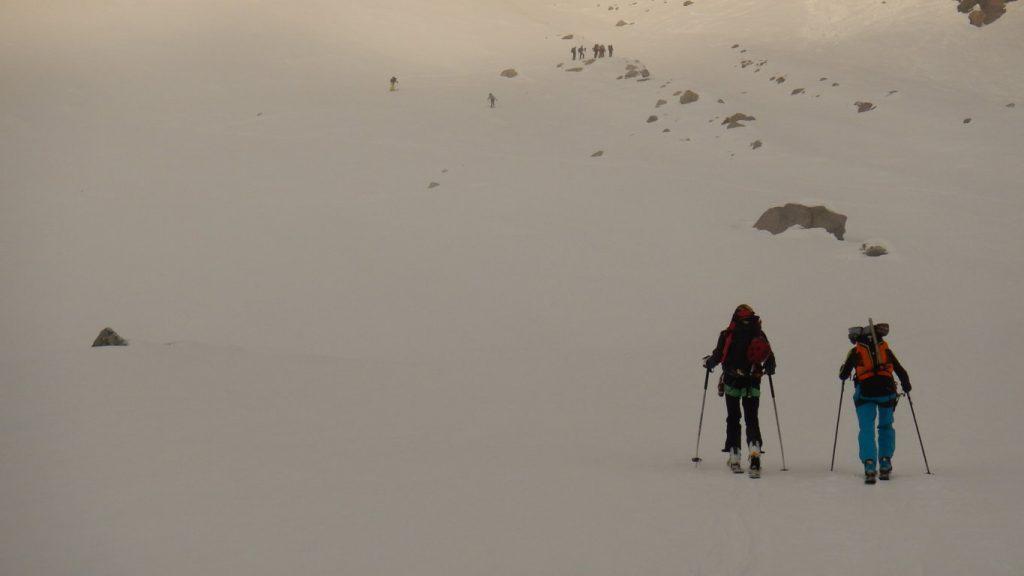 Giro del Gran Paradiso con gli sci